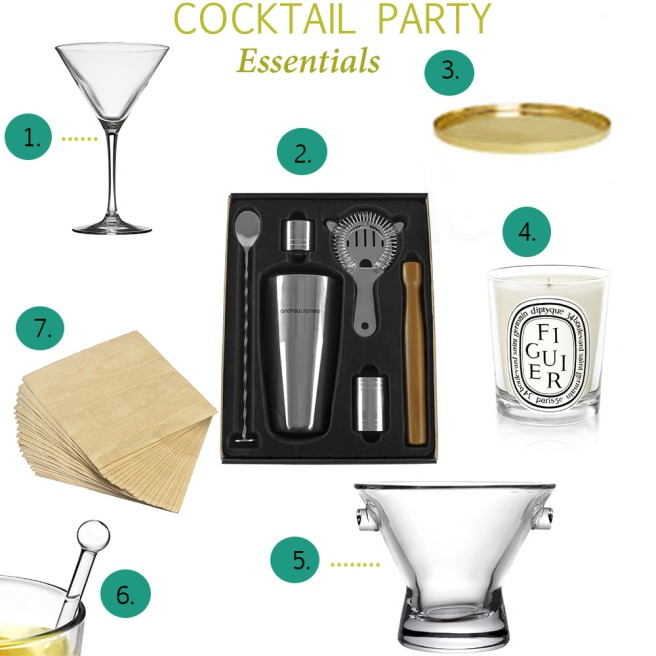 Cocktail Party Essentials